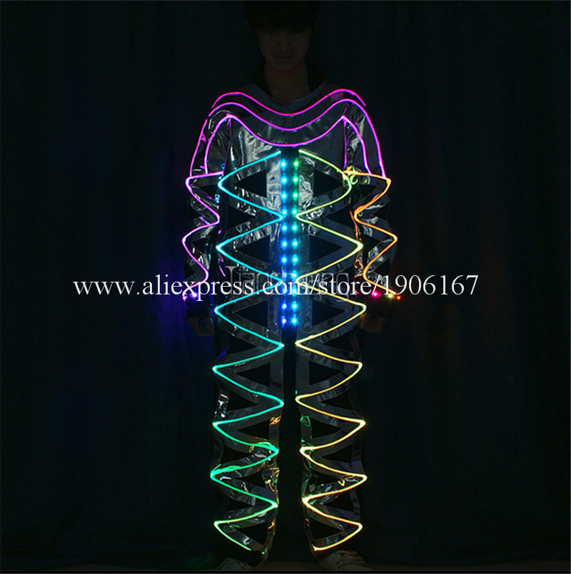 Full color LED light up Fiber Optic Jumpsuits03