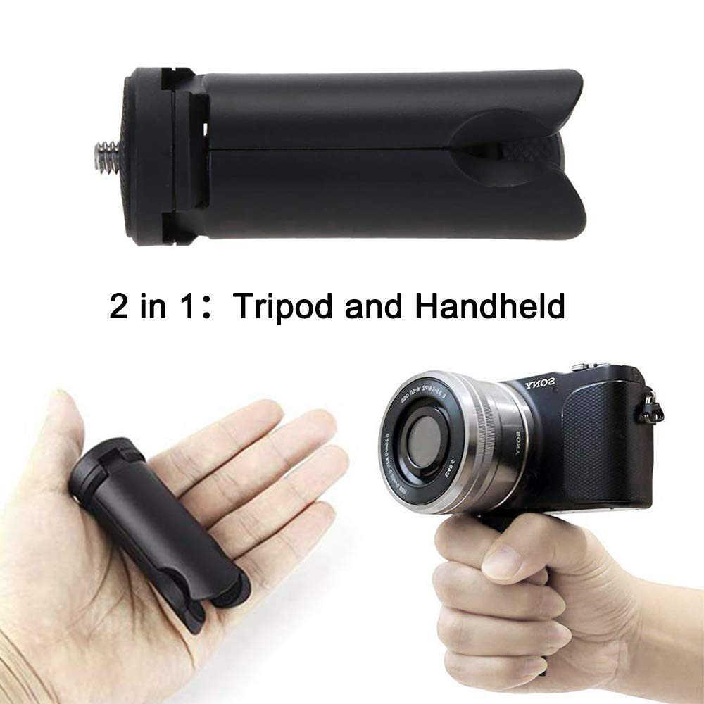 Selfie Stick Mini Tripod Kepala Bluetooth Remote Control Ponsel E Klip GoPro Aksesoris untuk Ponsel Iphone Samsung Huawei Cam