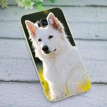 Cover for Samsung Galaxy J6 2018 Shepherd dog Phone Case for J7 A5 2017 A6 A7 2018 A8 A9 A10 A20 A30 A40 A50 A70 J3 J5 стоимость