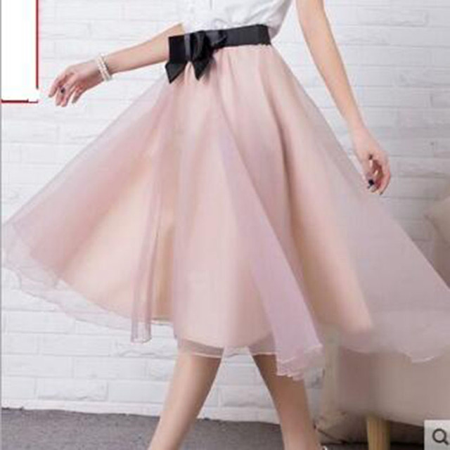 Aliexpress.com : Buy summer Long Skirts Tulle Skirt women fashion ...