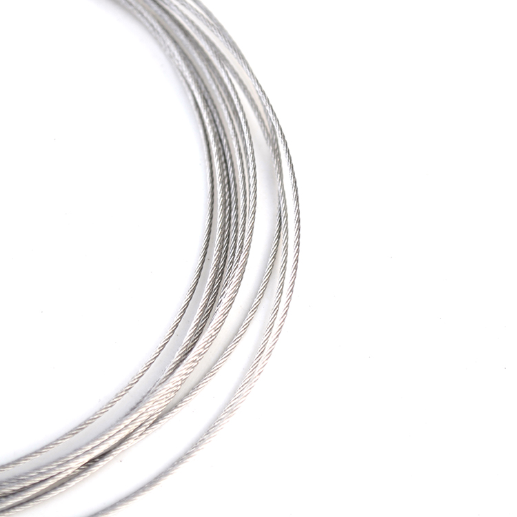 5 meters length stainless steel 7*7 bundle wire spring soft cable ...