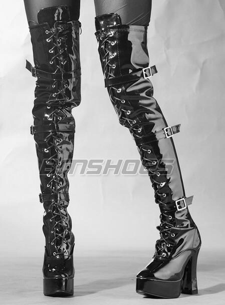 Popular Custom Thigh High Boots-Buy Cheap Custom Thigh High Boots ...