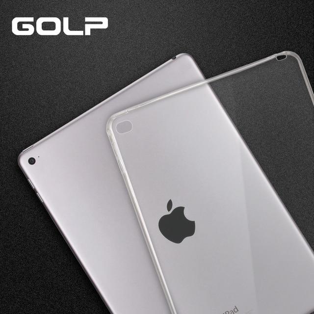 Dành cho iPad Mini Ốp Lưng, mềm TPU dành cho iPad mini 1 2 3 4 5 Coque Silicone Mỏng vỏ Bảo Vệ dành cho iPad Mini 4 5 2019
