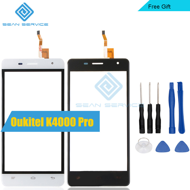 For Oukitel K4000 Pro TP Touch Screen Panel Perfect Repair Parts +Tools Glass With Digitizer Sensor Replacement