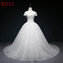 SuLi SL-4351 Ball Gown Wedding Dresses Crystal Bridal Gown