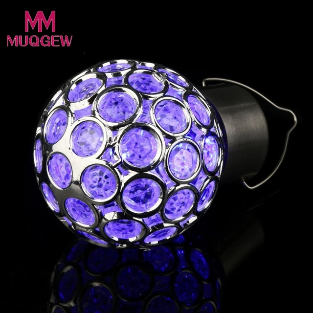 Waterproof Solar Rotatable Outdoor Wedding Decoration Garden Camping Hanging LED Round Ball Lights DIY Home