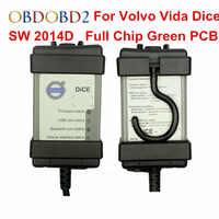 2018 Chip completo para Volvo Vida dados herramienta de diagnóstico SW 2014D dados Pro OBD2 escáner para Volvo Cars Firmware actualización autoprueba