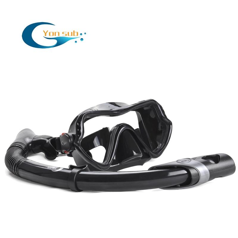 Máscara de buceo profesional de silicona para adultos Buceo Buceo - Deportes acuáticos - foto 4