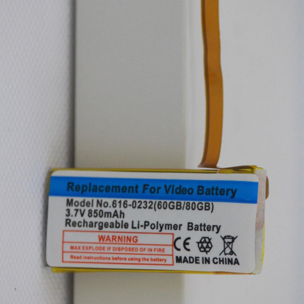 6th gen classico 160gb de espessura 616 0232 bateria 03