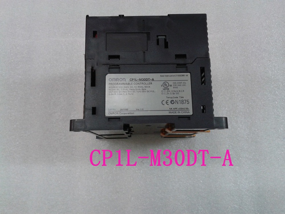OMRON PLC CONTROLLER , PLC MODULE PLC module CP1L-M30DT-A CP1L CPU unit AC100-240V 18 DI 12 DO Transistor new omron plc terminal connectors are suitable for mitsubishi series q i o module with 1 m cable