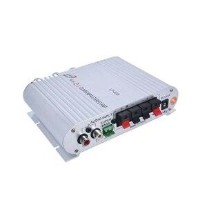 Image 3 - Amplificateur de voiture chaude Hi Fi 2.1 MP3 Radio Audio stéréo haut parleur Booster lecteur pour moto moto usage domestique