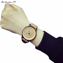 Relogio Feminino Male Female Students Minimalist Fashion Personality Casual Couple Watches Clock Motre Relogio Masculino #-010