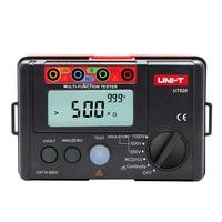 Uni T UT526 Digital Electrical Meter Insulation Resistance Tester AC DC Voltmeter/ RCD Test / Low resistance continuity measure