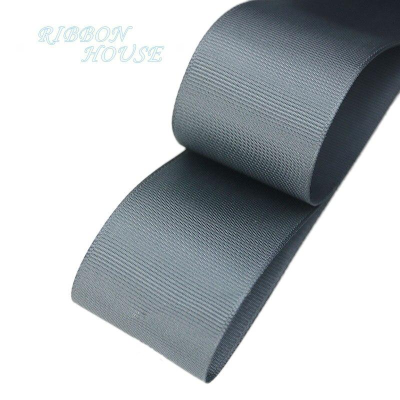 (5 м/лот) 40 мм Глубокий серый корсажная лента подарочная упаковка оптом Новогоднее украшение ленты