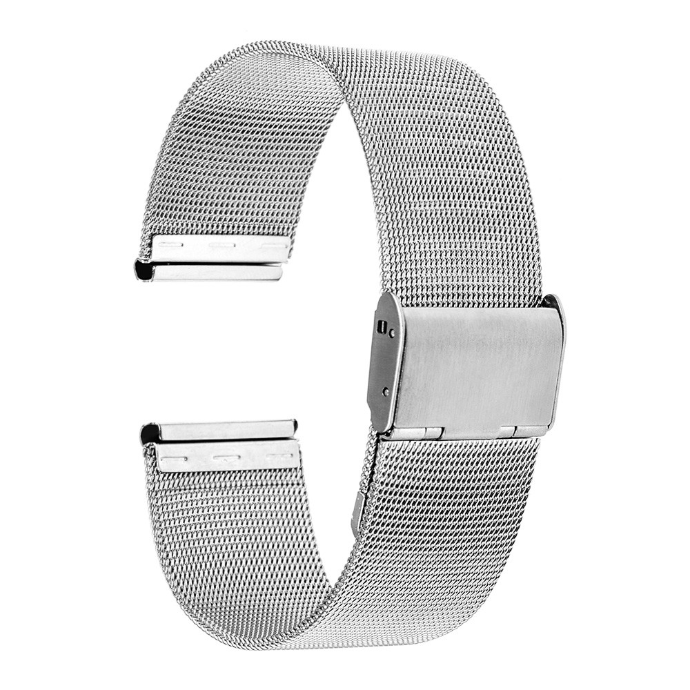 SIKAI Original 20mm Metal Stainless Steel Watch Straps For Huami Xiaomi Amazfit Bip Lite Youth Fine Watch Band Bracelets Relogio