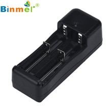 Universal Dual Battery Charger Smart For 18650 14500 16340 10440 26650 Rechargeable Li-ion battery 3.7V Better than UM20 Dec8