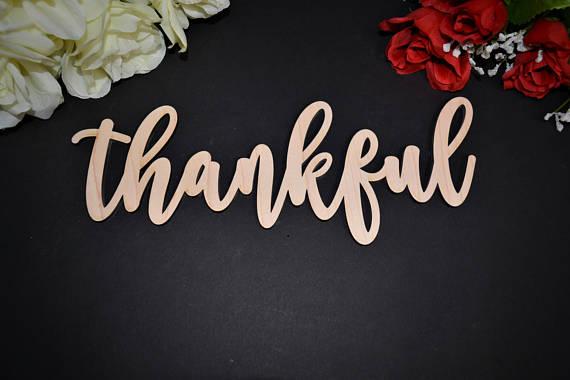 Дерево спасибо знак-Каллиграфия Стиль-Свадьба Спасибо карты знак наряд для фотосессий деревянные буквы