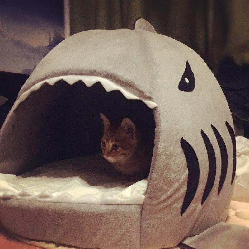 cat litter Warmth Closed Cat sleeping bag Cat mat Pet Supplies & Pet Cat house Washable Cat bed