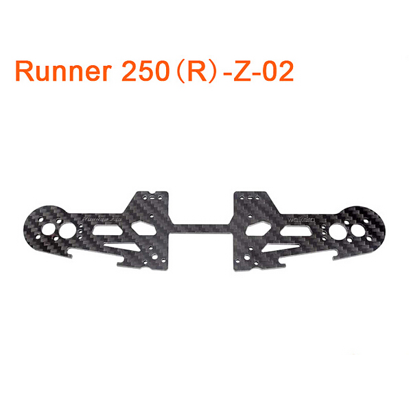 F16483 Original Walkera Runner 250 Advance Spare Part Front Motor Fixed Plate Runner 250(R)-Z-02 FS