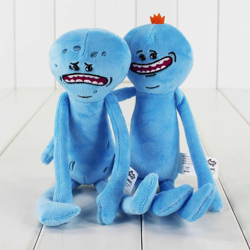 Mr. Meeseeks Peluche de juguete Sanchez Smith Jerry verano Poopybutthole Happy Sad Scientist muñecas de peluche