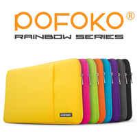"POFOKO водонепроницаемый и анти-осенний чехол для ноутбука, сумка, чехол, чехол для Apple Macbook Pro Air 13,3 MC белый 11 12 13 15 17"""