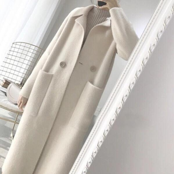 Tricoté Véritable Fourrure Cardigan Jacketn Gratuite Cachemire Pull De Femmes Manteau Vison Pur 2019 Dc486 Long En Hiver Livraison xA0xFrHw