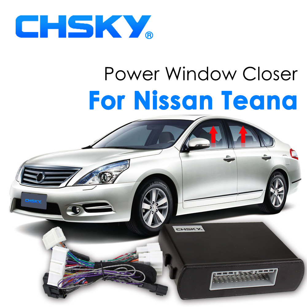 Buy Chsky Car Power Window Roll Up Closer L33 Engine Diagram For Nissan Teana 2013 2016 Left Hand Drive Remotely Close Lifter From