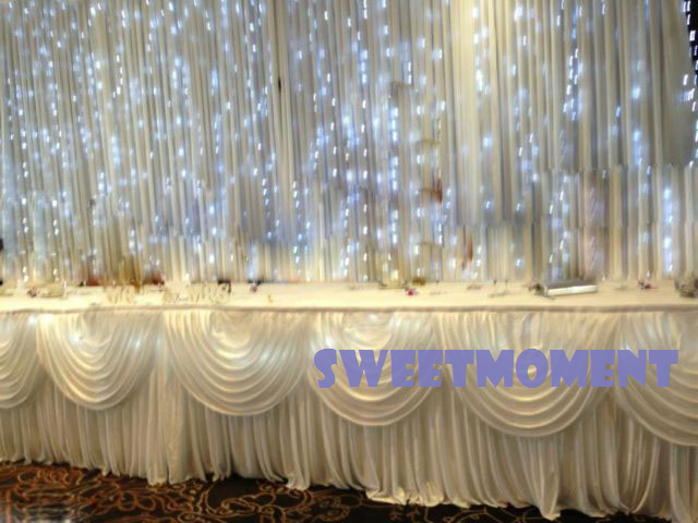 3x3m Led Light Curtain For Wedding Backdrop Fairy Drape Free Shipping