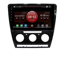 2GB RAM octa core Android 7.1.2 car GPS for SKODA OCTIVIA 2010-14 AT touch screen car radio stereo navigation 3G mirror link DVR