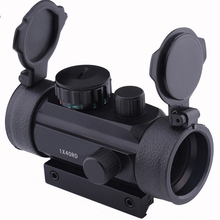 Holographic Sight 1x40 Red Dot Sight Scope Airsoft Red Green Dot Sight Scope Hunting Scope 11mm 20mm Rail Mount Collimator Sight цены
