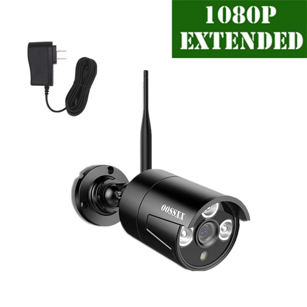 OOSSXX 1080P HD CCTV IP Camera Indoor Outdoor IP66 Waterproof 2MP P2P Onvif Surveillance Home Security IP Camera