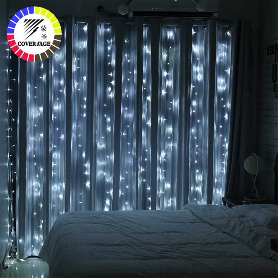 Coversage Led Fairy Lights Curtain