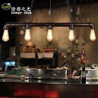 Amerikaanse land retro industriële persoonlijkheid lamp Cafe Bar Cafe creatieve lange lamp antieke waterleiding lamp