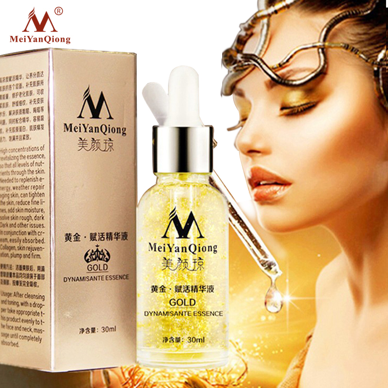 Skin Care Pure 24K Gold Essence Day Cream Anti Wrinkle Face Care Anti Aging Collagen Whitening Moisturizing Hyaluronic Acid Ance bioaqua pure pearl collagen hyaluronic acid face skin care essence moisturizing hydrating anti wrinkle anti aging facial cream
