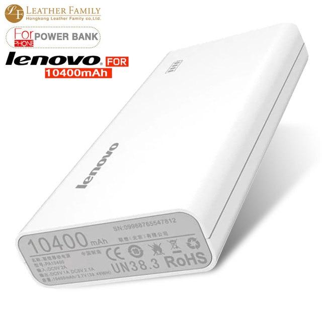 100 Original Lenovo Power Bank 10400mah For Iphone 6 Smartphone