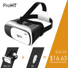 """[ProHT]Classic 88202 Virtual Reality VR Box 2.0 for Games &Movies with Remote Oculus Rift 3.5-6.0"""" Smartphone For Android/ iOS"""