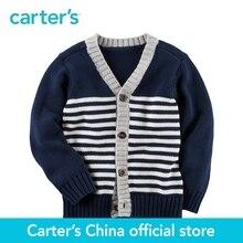 Carter de 1 pcs bébé enfants enfants Rayé Bouton-Avant Cardigan 243G870, vendu par Carter de Chine officielles magasin
