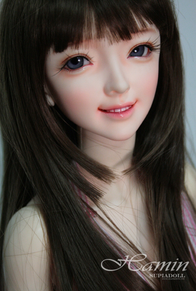 Free shipping! face makeup&eyes included !top quality 1/3 bjd Hamin sexy female doll sd dod doll manikin best gift toy girl free shipping face makeup