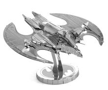Bat wing Metal Stainless Steel DIY Assembling Model 3D Stitching Toy with English Description