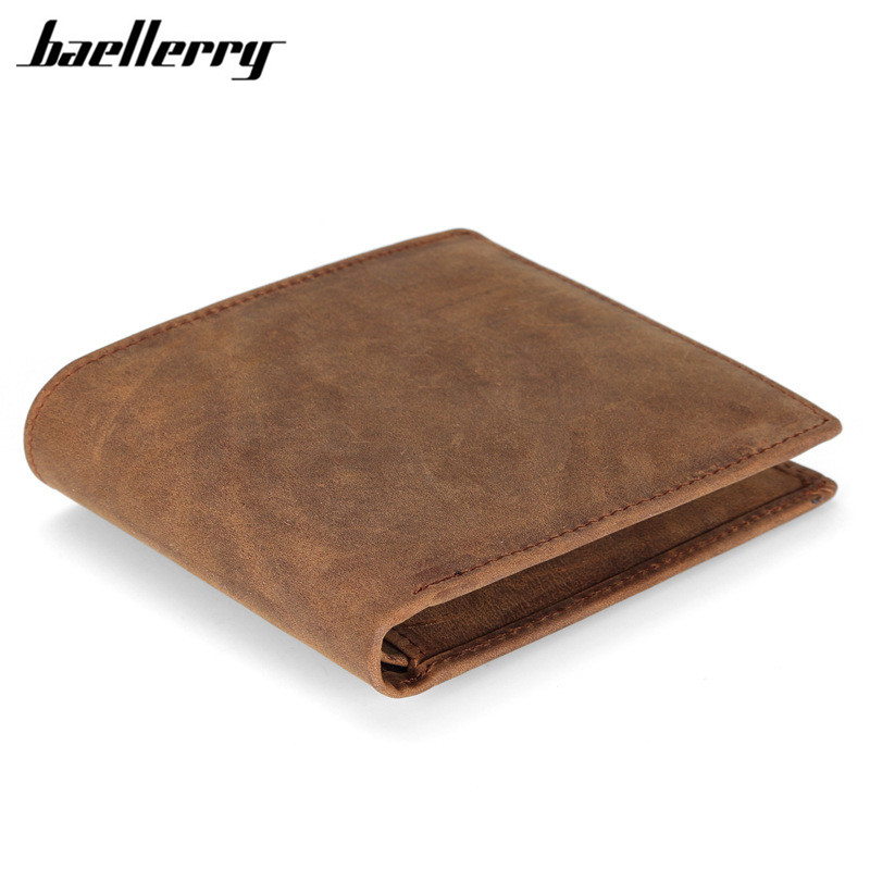 Men Wallet Genuine Leather vintage Grazy Horse Cowhide Leather Wallets Thin Big Capacity Short Purse Coin Pocket Card id Holders aoeo genuine leather men wallets short coin purse small vintage wallet cowhide leather card holder pocket purse men wallets mini
