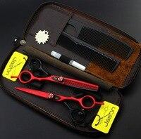 Jason 5.5 inch Hot Professional Hair Scissors Set Hairdressing Scissors Barber Kit Japanese Hair Cutting Scissors Shears Tesoura
