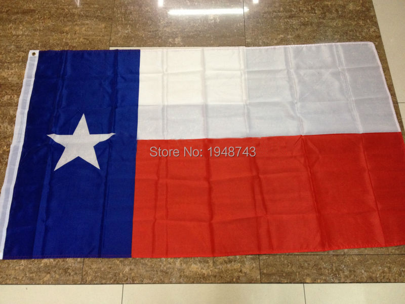 Hot Sell TEXAS STATE FLAG 3*5 Feet. Big Flag. Polyester Flag <font><b>90*150</b></font> cm Banner Outdoor Indoor Home Decor With Brass Grommets image
