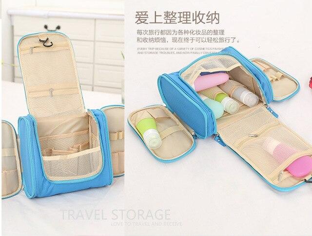NEW Arrival Storage Cosmetic Bag Wash Bags Travel  Sorting Organizer Bags Waterproof Makeup Bags Luggage Covers