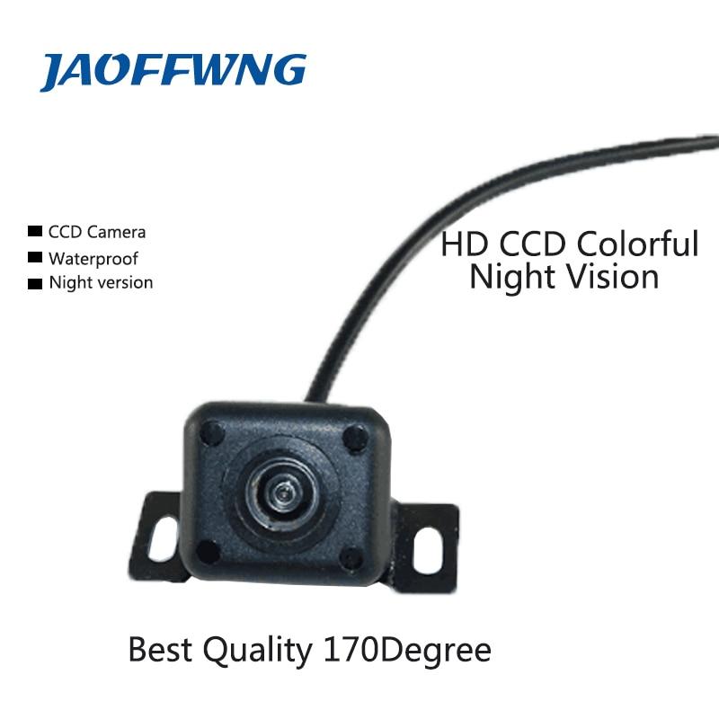 Universaalne auto tagantvaates kaamera parkimiskaamera HD värvi ööversioon tagurpidi ajamiga CCD kaamera 170 '' laiusega vaatenurgaga