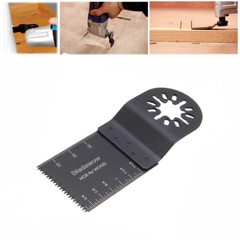 5Pcs Oscillating Toolใบเลื่อยสำหรับRenovatorเครื่องมือ 35 มม.ใบเลื่อยสำหรับตัดไม้Fein Bosch multimaster Makita