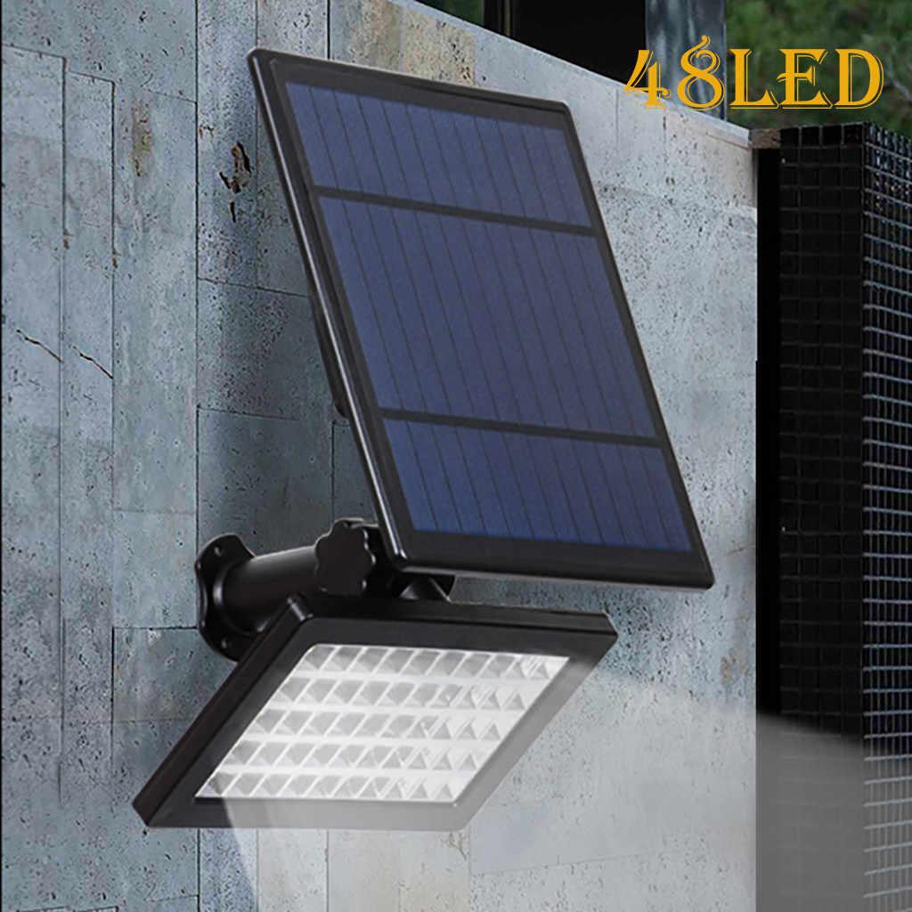 Солнечная энергия Открытый 48-светодиодный датчик света уличный прожектор огни Открытый сад лампа для дорожек светодиодный guirlandes solaires ext rieur