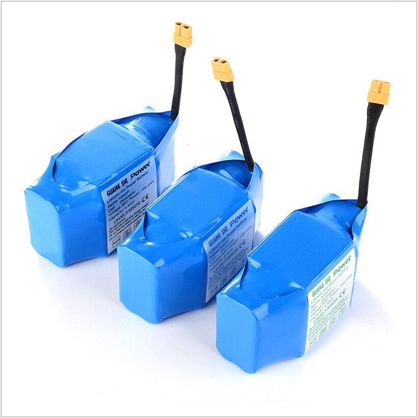 Batteries rechargeables de Li-ion d'ion de lithium dynamique de haute qualité de 36 V 4400 mAh 4.4AH pour la batterie externe de Scooters électriques d'auto-équilibre