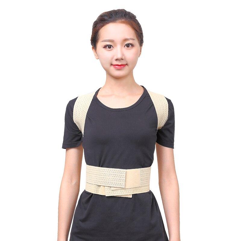 Free shipping Women Adult Kid Breast Back Chest Support Belt Corrector Shoulder Brace Orthopedics Posture Bandage Health Care
