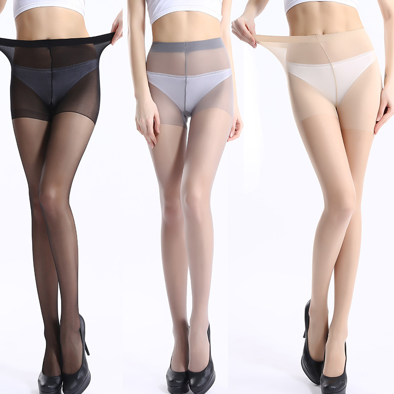 1pairs/lot Summer Tights Silk Super Elastic Magical Stockings Womens Pantyhose Sexy Skinny Anti Hook Girl Refreshing Thin
