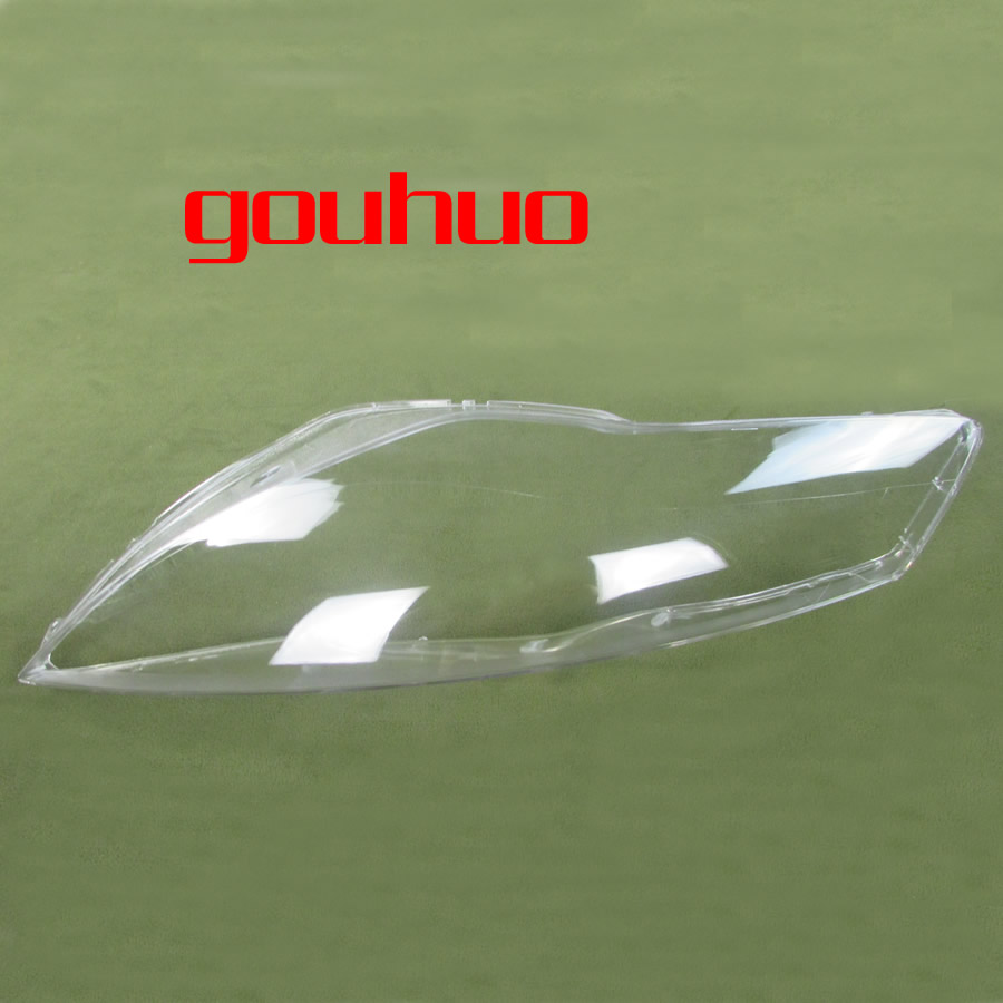 front headlamps cover glass transparent lampshades headights cover lamp shell masks For Ford Mondeo 07 12